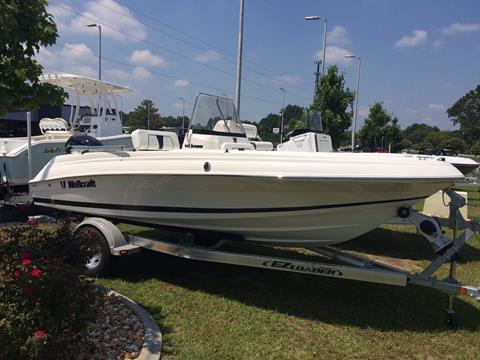 2017 Wellcraft 180 FISHERMAN for sale in Goldsboro, NC
