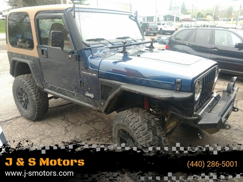 2002 Jeep Wrangler for sale in Chardon, OH