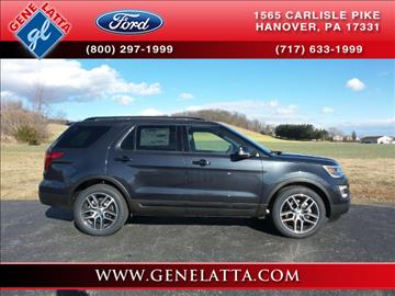 2017 Ford Explorer for sale in Hanover, PA