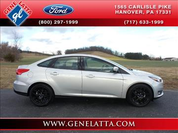 2016 Ford Focus for sale in Hanover, PA