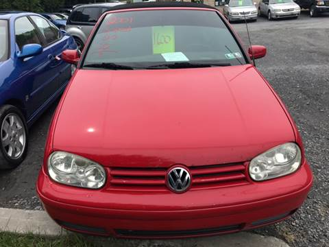 2001 Volkswagen Cabrio for sale in Bath, PA