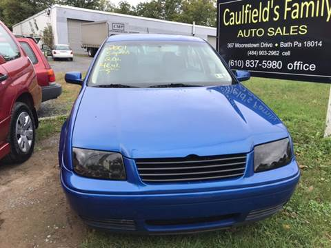 2001 Volkswagen Jetta for sale in Bath, PA