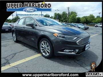 2017 Ford Fusion Energi for sale in Upper Marlboro, MD