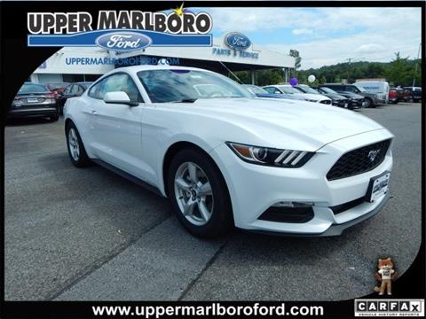 2017 Ford Mustang for sale in Upper Marlboro, MD