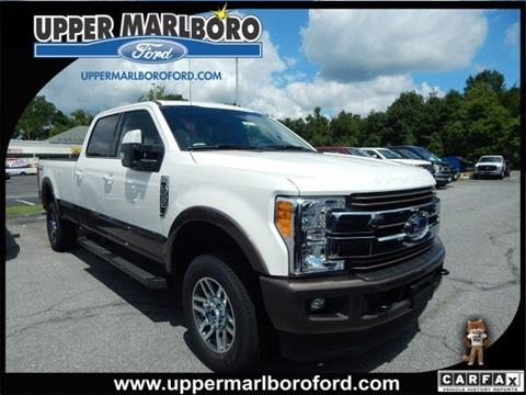 2017 Ford F-250 Super Duty for sale in Upper Marlboro MD