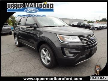 2017 Ford Explorer for sale in Upper Marlboro, MD