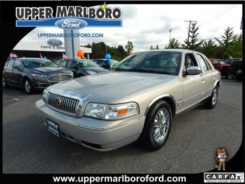 2010 Mercury Grand Marquis for sale in Upper Marlboro, MD