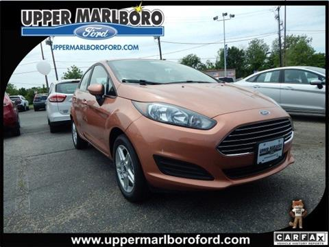 2017 Ford Fiesta for sale in Upper Marlboro MD