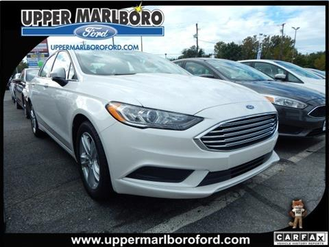 2018 Ford Fusion for sale in Upper Marlboro, MD