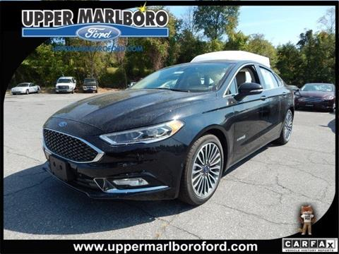 2018 Ford Fusion Hybrid for sale in Upper Marlboro, MD