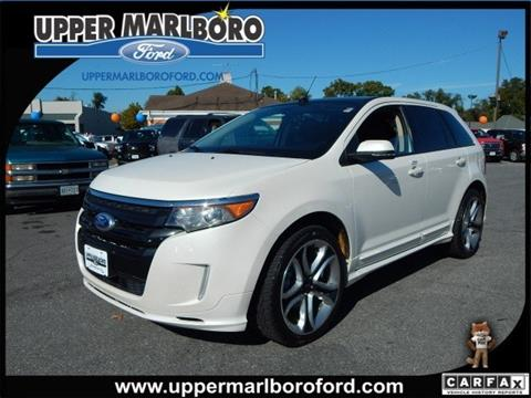 2013 Ford Edge for sale in Upper Marlboro, MD