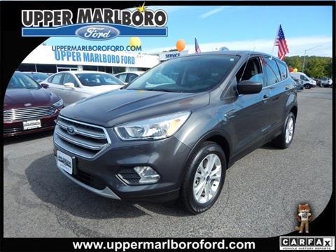 2017 Ford Escape for sale in Upper Marlboro, MD