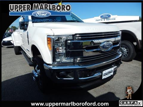 2017 Ford F-350 Super Duty for sale in Upper Marlboro, MD