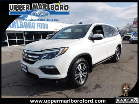 2016 Honda Pilot for sale in Upper Marlboro, MD