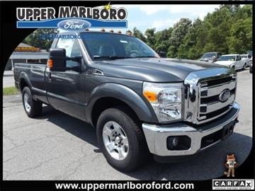 2016 Ford F-250 Super Duty for sale in Upper Marlboro, MD
