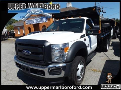2016 Ford F-450 Super Duty for sale in Upper Marlboro, MD