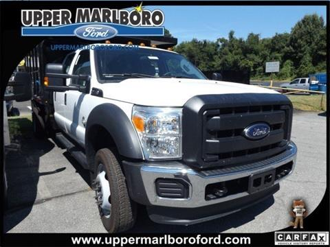 2016 Ford F-450 Super Duty for sale in Upper Marlboro, MD