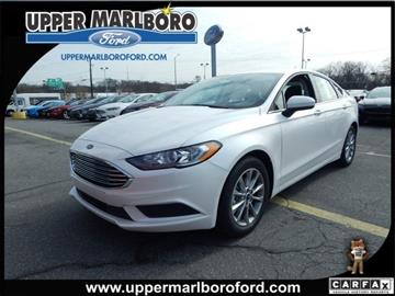 2017 Ford Fusion for sale in Upper Marlboro, MD