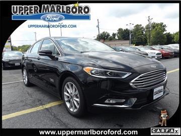 2017 Ford Fusion Energi for sale in Upper Marlboro, MD