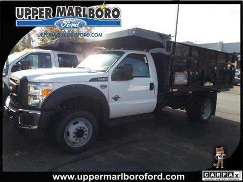 2016 Ford F-550 for sale in Upper Marlboro MD