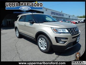2017 Ford Explorer for sale in Upper Marlboro, MD