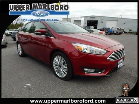2017 Ford Focus for sale in Upper Marlboro, MD
