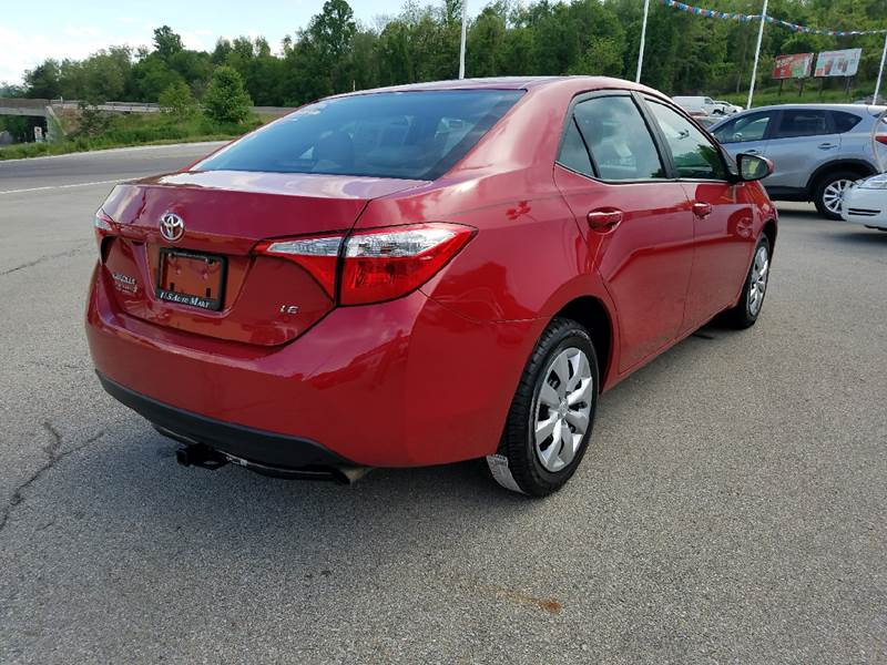 2016 Toyota Corolla for sale at U.S. AUTOMART INC. in Adamsburg PA