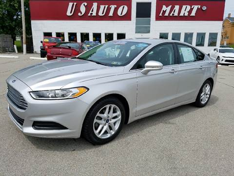 2013 Ford Fusion for sale at U.S. AUTOMART INC. in Adamsburg PA