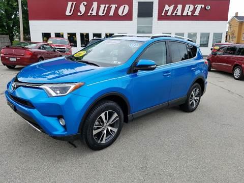 2016 Toyota RAV4 for sale at U.S. AUTOMART INC. in Adamsburg PA