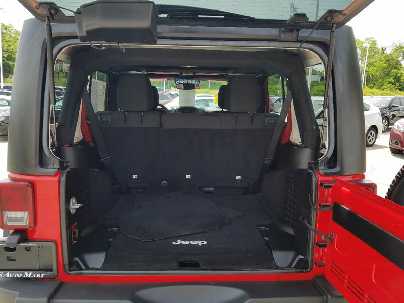 2016 Jeep Wrangler Unlimited for sale at U.S. AUTOMART INC. in Adamsburg PA