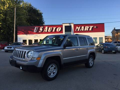 2016 Jeep Patriot for sale at U.S. AUTOMART INC. in Adamsburg PA