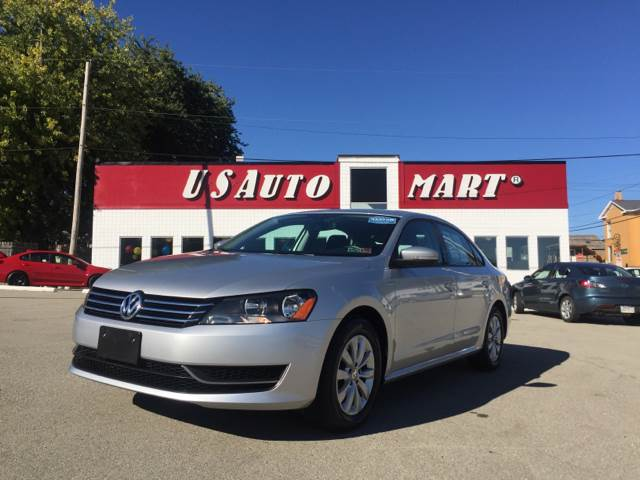 2015 Volkswagen Passat for sale at U.S. AUTOMART INC. in Adamsburg PA