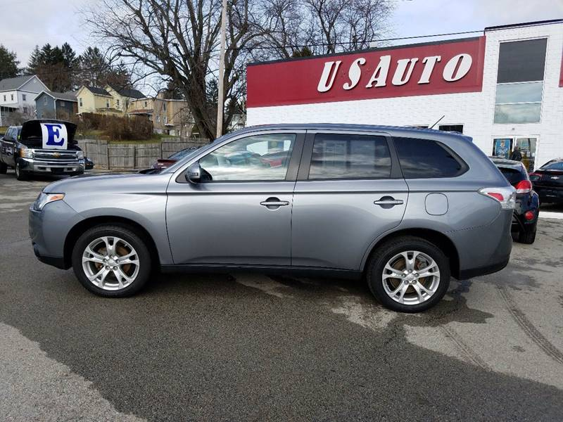 2014 Mitsubishi Outlander for sale at U.S. AUTOMART INC. in Adamsburg PA
