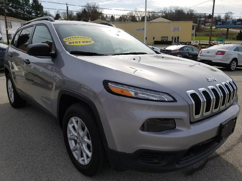 2016 Jeep Cherokee for sale at U.S. AUTOMART INC. in Adamsburg PA