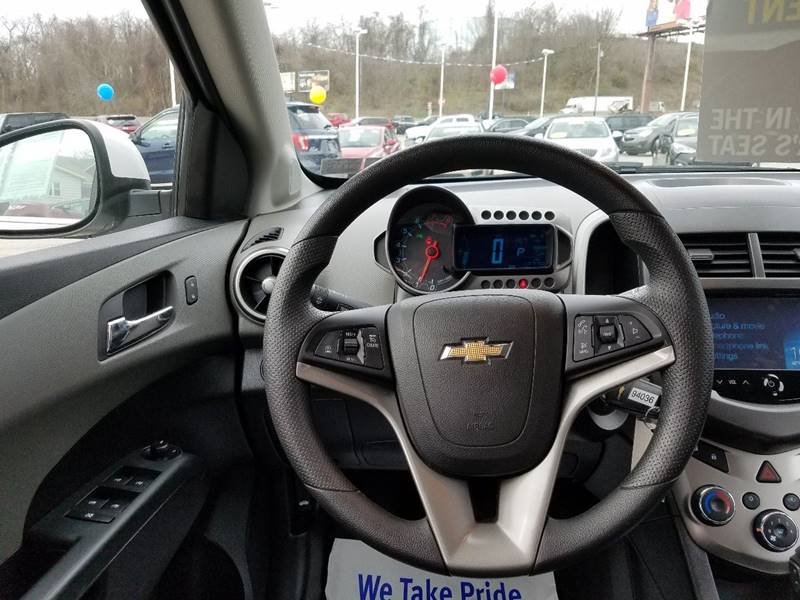 2015 Chevrolet Sonic for sale at U.S. AUTOMART INC. in Adamsburg PA