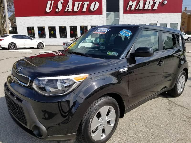 2015 Kia Soul for sale at U.S. AUTOMART INC. in Adamsburg PA
