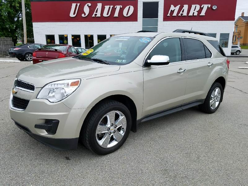 2013 Chevrolet Equinox for sale at U.S. AUTOMART INC. in Adamsburg PA