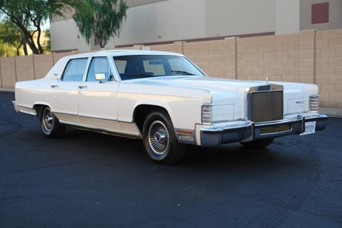 1979 Lincoln Continental for sale at Arizona Classic Car Sales in Phoenix AZ
