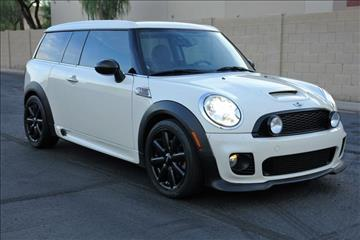 2010 MINI Cooper Clubman for sale at Arizona Classic Car Sales in Phoenix AZ