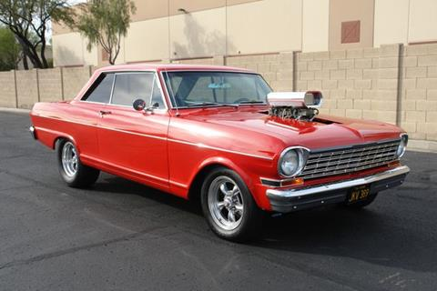 1964 Chevrolet Nova for sale at Arizona Classic Car Sales in Phoenix AZ