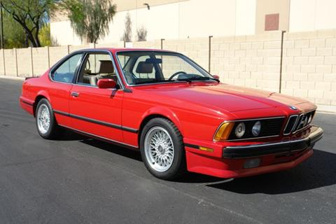 1988 BMW M6 for sale at Arizona Classic Car Sales in Phoenix AZ