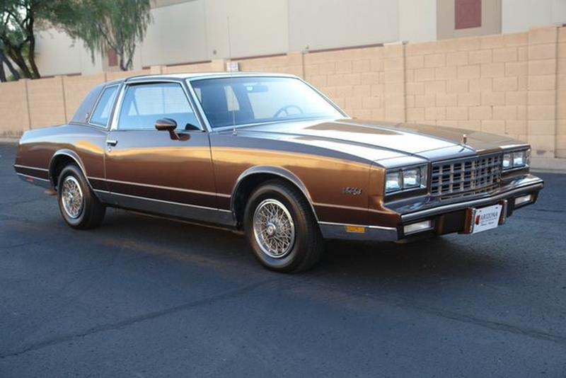 1983 Chevrolet Monte Carlo for sale at Arizona Classic Car Sales in Phoenix AZ