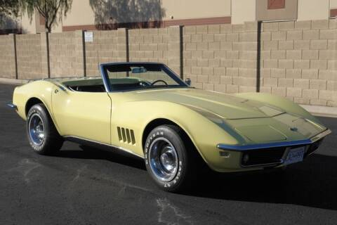 1968 Chevrolet Corvette for sale at Arizona Classic Car Sales in Phoenix AZ