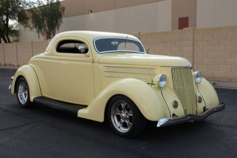 1936 Ford 3-Window Coupe for sale at Arizona Classic Car Sales in Phoenix AZ