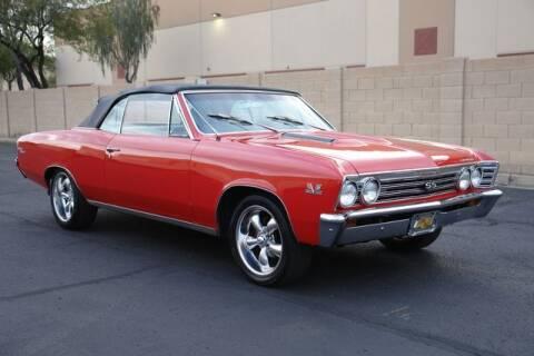 1967 Chevrolet Chevelle for sale at Arizona Classic Car Sales in Phoenix AZ