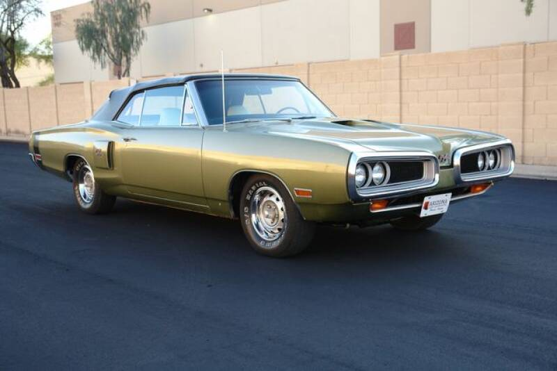 1970 Dodge Coronet RT Convertible for sale at Arizona Classic Car Sales in Phoenix AZ