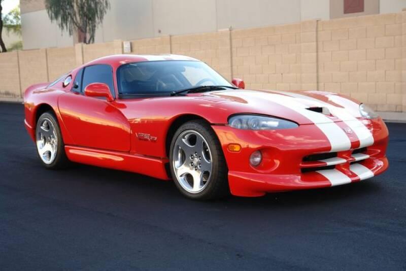2002 Dodge Viper for sale at Arizona Classic Car Sales in Phoenix AZ