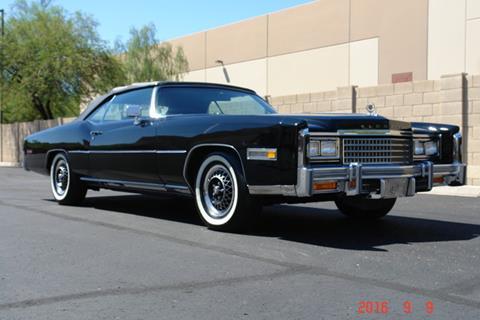 1978 Cadillac Eldorado for sale at Arizona Classic Car Sales in Phoenix AZ