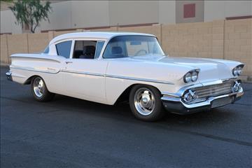 1958 Chevrolet Del-Ray for sale at Arizona Classic Car Sales in Phoenix AZ