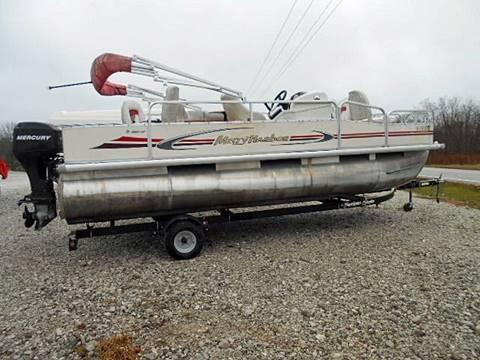 2009 Misty Harbor 1880CF Fishing Pontoon for sale in Rockville, IN